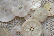 Vintage  Lace and Buttons / by Clara Carlton