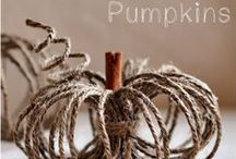 Fallspiration / Halloween and Fall Decorations/DIY projects / by Ginny Juresich