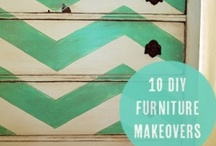 Painted furniture - oh what a little paint can do / Hand painted furniture