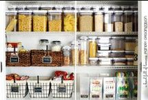 Organize | Pantry / Ways to organize your kitchen pantry.  / by Leanne {Organize & Decorate}