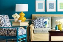 Decorate | Living Room / Living room decorations from paint colors, sofas, pillows and more.  / by Leanne {Organize & Decorate}