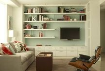 Decorate | Family Room / How to decorate your family room and create a space that is efficiently organize and relaxing.  / by Leanne {Organize & Decorate}