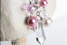 Miscellaneous Jeweled Crafts / Crafts utilizng beads and bling of whatever sort / by Becky George