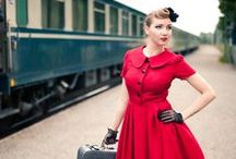 Rockabilly, Pinups and Vintage / The rockabilly look, vintage style and sexy pinups / by Grace Brooks
