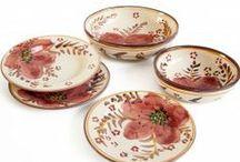 Italian dinnerware / Finest italian ceramics dinnerware, handmade and hand painted in Italy.