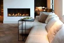 Fireplaces that inspire us / A range of fireplaces that inspire us, both traditional and modern in all types of homes and properties..