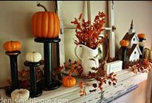 Halloween / Decorations and inspiration to get spooky at Halloween...