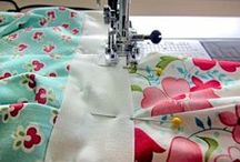 quilts, cushions & sewing projects / by Grace Brooks
