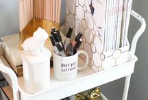 Office Glitz and Glam / Home Office Organization, Decor, & Tips / by Ginny Juresich