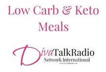 Low Carb & Keto Recipes - Divas In Aprons / All about the Low Carb way of eating with Keto recipes.  http://DivaTalkRadio.com