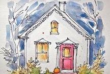 Cozy Cottage / by Janice Ramey