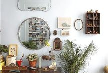 Living Spaces / Collecting inspiration for my new house and living space. Finding lots of inspiration with green floral elements and Scandinavian furniture.