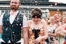 Confetti at Your Wedding / Confetti at weddings offer such joyous and fun images. Wedding confetti is a brilliant tradition and an amazing way to get relaxed and spontaneous photographs on your big day.
