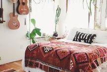☽ DECORATION BOHO / #deco #homedecor #boho #hippie