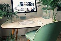 ☽ BUREAU / DESKTOP / #deco #decoration #bureau #desktop #office #homedecor
