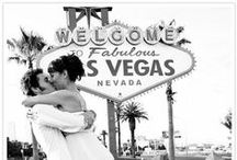 The unmissable Las Vegas sign / Pinspiration for your Las Vegas wedding photos during your Epic Elopement