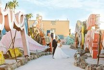 Las Vegas Wedding Photo Backdrops / A collection of beautiful Las Vegas backdrops for your Epic Elopement. A truly spectacular place to get married, renew your vows and celebrate your lives together!