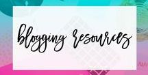 Blogging Resources / Resources for bloggers including tips, photos, and more