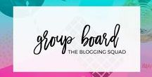 The Blogging Squad Group Board / Welcome to The Blogging Squad group board! Here you'll find blogs from lifestyle, fashion, beauty, DIY, recipes and so much more! Please repin at least 2 pins for every 1 you add (add no more than 3 pins per day). ALL PINS MUST BE VERTICAL! If you want to be added to this board, please follow us then fill out this form: http://thebloggingsquad.com/join-pinterest-group-board/