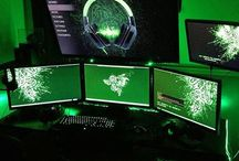 Gaming set up + Mancave's