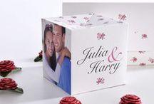 """PINK ROSE EINLADUNG / Es wird romantisch! Plane deine Hochzeit ganz im Design von """"Pink Rose"""". Die zarten Rosen, in passenden Farben, bilden das romantische Gesamtpaket und lassen dich und deine Gäste in eine Märchenwelt versinken."""