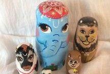 my hand painted (nesting) dolls