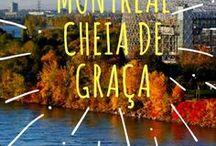 Montreal (Canada) - Dicas e Roteiros de Viagem • Blog Vivajando / Seleção de fotos, roteiros, guias e dicas de passeios relacionados à cidade canadense de Montreal, Québec - Canadá.  ✦ Fotografias extraídas de posts do blog de viagens Vivajando • Onde Vida e Viagem se Encontram: www.vivajando.com