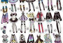 Mädchen-outfits