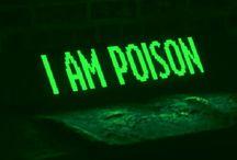 ♘ // palma isley / • pamela isley, poison ivy; dc