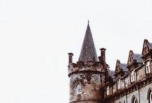 ♧ // hogwarts / • hogwarts; harry potter