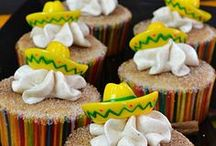Mexican Party Themes / Sugar Skulls   Day Of The Dead Cinco de Mayo Fiesta   Pinatas Activities Balloons Birthday Budget Crafts Cupcakes Decorations DIY Dollar Store Food | Drink Free Printables Games | Activities Hosting Ideas Party Themes Planning Recipes Supplies