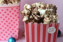 popcorn / by Summer {Sumo's Sweet Stuff}