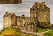 Captivating Castles / I've always found castles to be incredibly romantic...in a medieval sort of way! / by Christine Bode