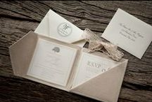Pocket Folder Wedding Invitations / by Kalo Make Art