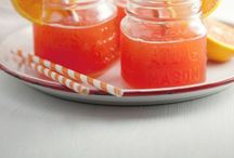 Recipes- Drinks and popsicles