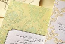 Invitation ideas for Sheena + Arthur