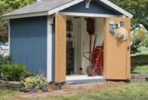 Shed Organization Ideas & Tips / Some ideas to keep your storage shed organized. Please share your shed organization ideas! Who knows what we could learn.