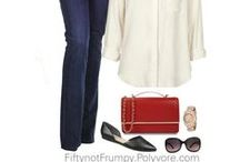 Fifty, not Frumpy on Polyvore / Visit Fifty, not Frumpy on Facebook or FiftynotFrumpy.com for more fashion tips and ideas women in mid life and beyond.