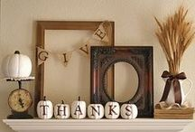 Holiday   Thanksgiving & Gratitude / Thankfulness, giving, people, bounty, prayer, life, ... Love.