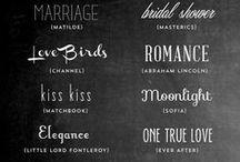 Fonts / Typeface