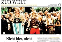 From the newspaper / Pages and layouts of my articles, taken from the German newspaper Stuttgarter Zeitung.