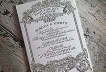 Vintage Drawing Style Invitation