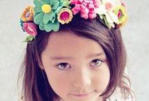 Flower Girl - Hair wreath