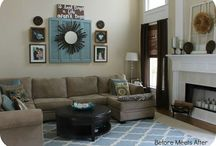 Family room (downstairs) / Decorating