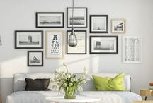 gallery walls. / helpful pins to look at before picking up the hammer & nail