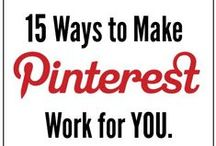 Social Media / Tips on how to make social media sites work for you!  Tutorials on Instagram, Pinterest, Twitter, Facebook, Google Plus, and a lot more!