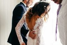 Wedding: The Bride & Groom / Attire, Inspiration, etc.  / by Dolly Mullen