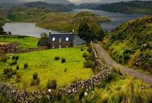 Bonny Scotland / My mother's ancestors came from Scotland (the Clydes) & England (the Woodcocks) so I'd love to visit this glorious country some day. I also confess that Diana Gabaldon's Outlander series has made me want to go all the more. / by Christine Bode