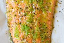 :: Salmon Lover / Creative, healthy, delicious ways to cook salmon from Salmon Lover Bloggers! #SalmonLover / by Reluctant Entertainer | Sandy