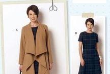 Lisette B6244 coat fabric ideas / by Liesl Gibson
